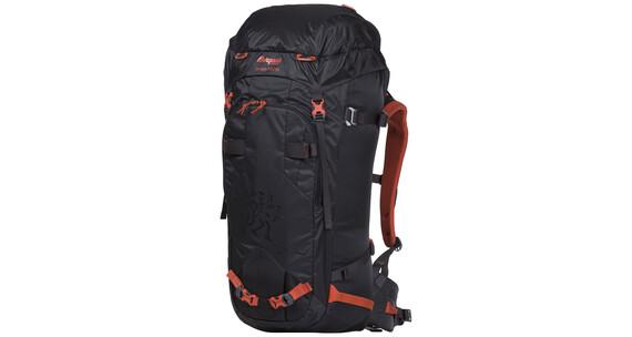Bergans Helium PRO 55 Backpack Solid Charcoal/Koi Orange